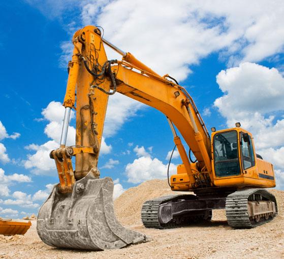 Usługi sprzętem budowlanym